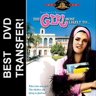 The Girl Most Likely To DVD 1973 Stockard Channing Ed Asner