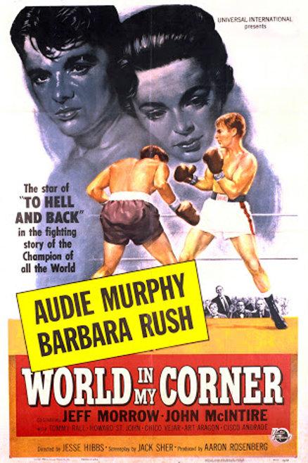 World In My Corner 1956 DVD Audie Murphy