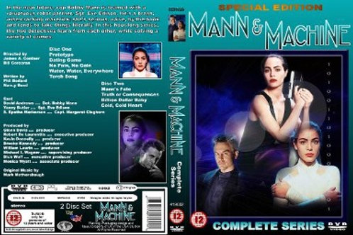Mann and Machine Complete Series on 4 DVD's