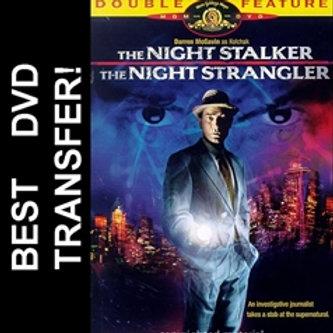 The Night Stalker & Strangler DVD 1972 Darren McGavin TV Movie