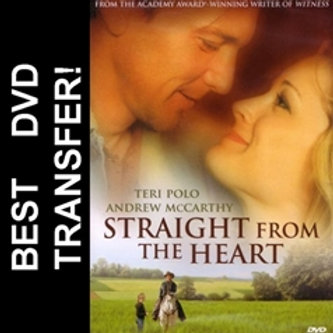 Straight From The Heart DVD 2003: Hallmark TV Movie