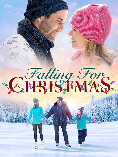 Falling for Christmas 2016 DVD