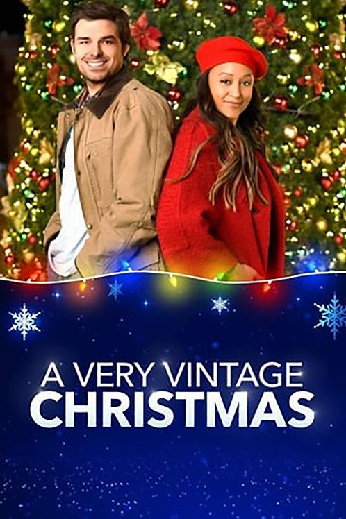 A Very Vintage Christmas (2019) DVD