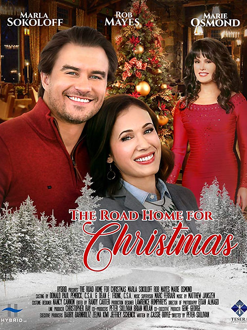 The Road Home for Christmas 2019 DVD