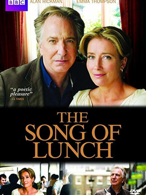 The Song of Lunch (2010) DVD