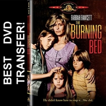 The Burning Bed DVD 1984 Farrah Fawcett Made For TV Movie