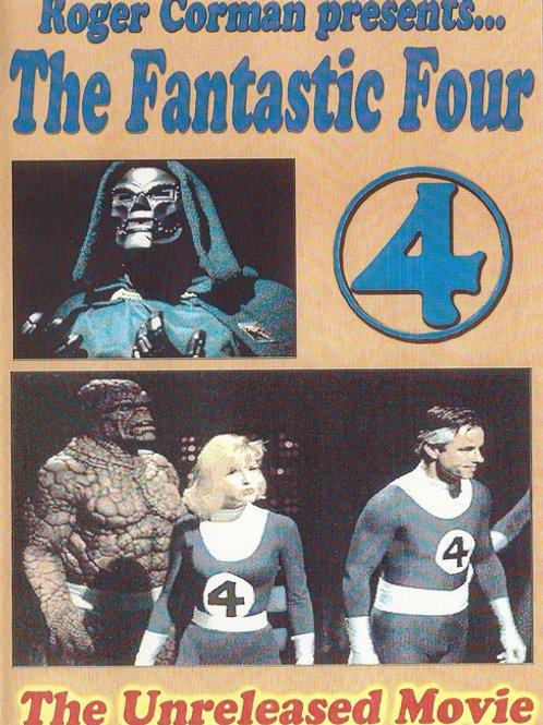 The Fantastic Four Roger Corman 1994 unreleased version DVD