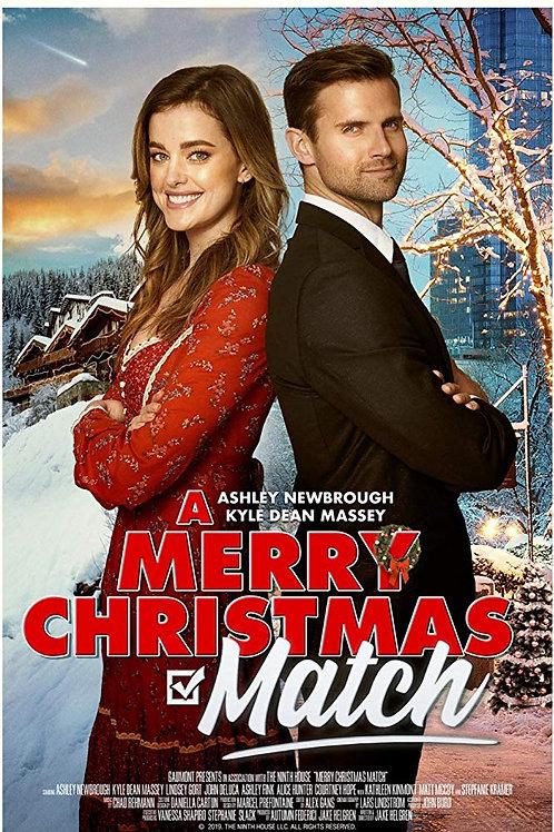 A Merry Christmas Match 2019 DVD