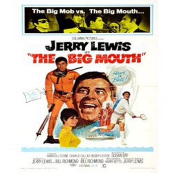 The Big Mouth 1967 DVD