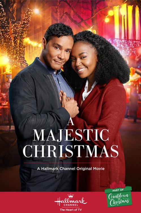 A Majestic Christmas (2018) DVD