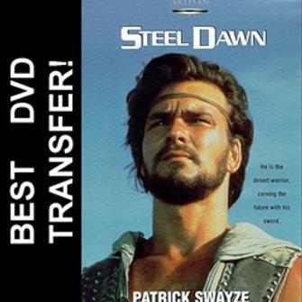 Steel Dawn DVD 1987 Patrick Swayze