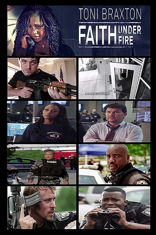 Faith Under Fire 2018 DVD