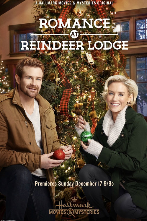 Romance At Reindeer Lodge 2017 DVD