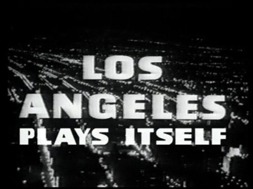 Los Angeles Plays Itself DVD 2003
