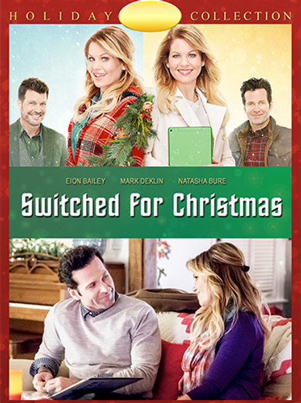 Switched for Christmas (2017) DVD