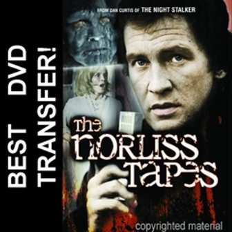 The Norliss Tapes DVD 1973 Angie Dickinson Roy Thinnes