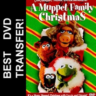 A Muppet Family Christmas DVD 1987