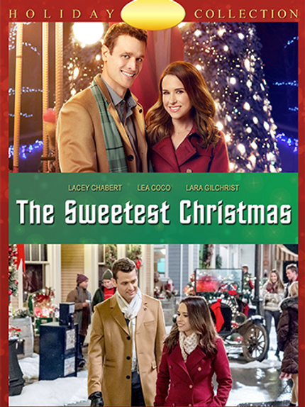 The Sweetest Christmas (2017) DVD