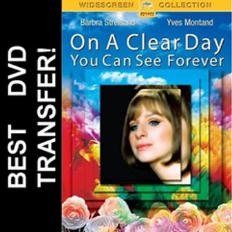 On A Clear Day You Can See Forever DVD 1970 Barbra Streisand