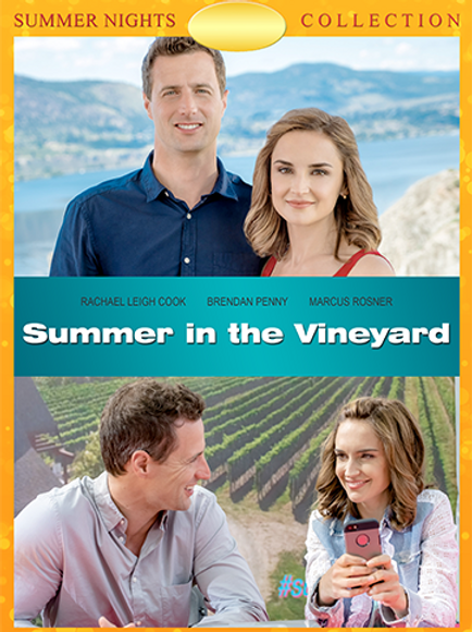 Summer in the Vineyard (2017) DVD