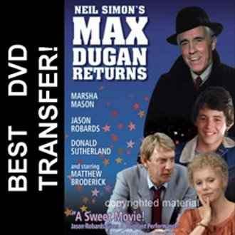 Max Dugan Returns DVD 1983 Matthew Broderick Marsha Mason