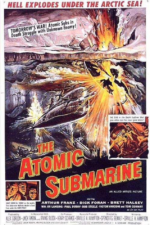 The Atomic Submarine 1959 DVD