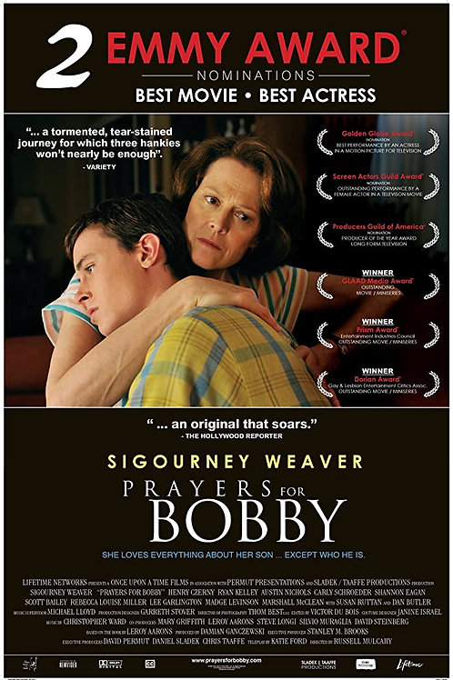 Prayers For Bobby 2009 DVD