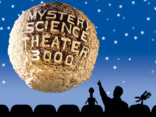 Mystery Science Theater 3000 Complete Series Plus Extras External Hard Drive