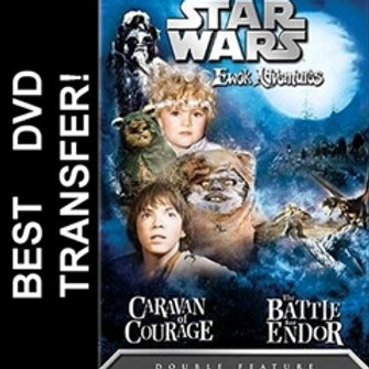 Star Wars Ewok Adventures DVD 1984 1985 Caravan of Courage Battle for Endor