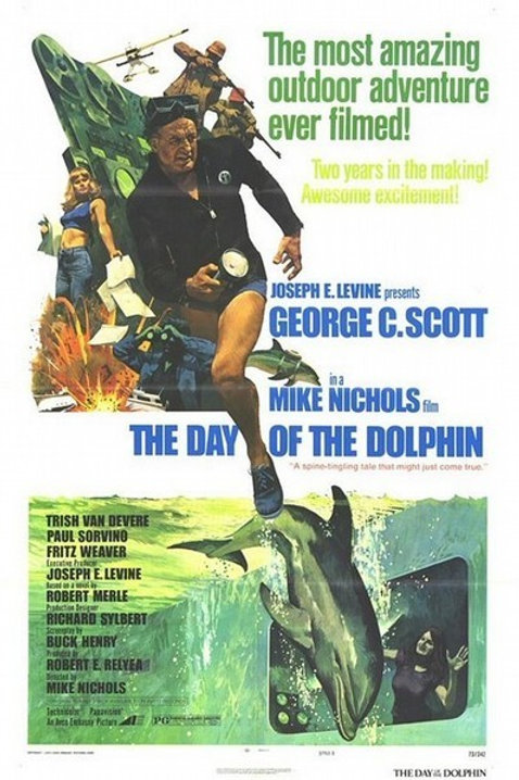 The Day Of The Dolphin 1973 DVD