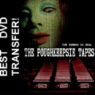 THE POUGHKEEPSIE TAPES (2007) RARE Horror DVD