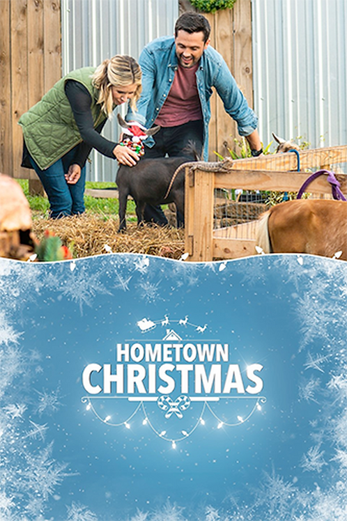 Hometown Christmas (2018) DVD