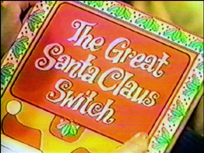 The Great Santa Claus Switch 1970 DVD