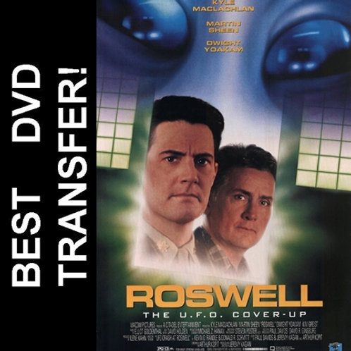 Roswell DVD 1994 Kyle MacLachlan Martin Sheen