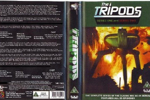The Tripods Complete Series on 8 DVD's