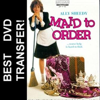 Maid To Order DVD 1987 Ally Sheedy Tom Skerritt