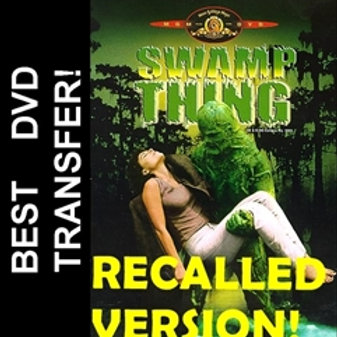 Swamp Thing DVD 1981 Recalled and Uncut Version Adrienne Barbeau