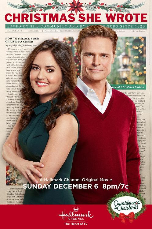 Christmas She Wrote DVD