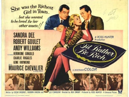 I'd Rather be Rich 1964 DVD