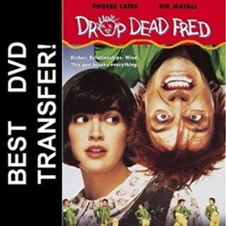 Drop Dead Fred DVD 1991 Phoebe Cates Rik Mayall