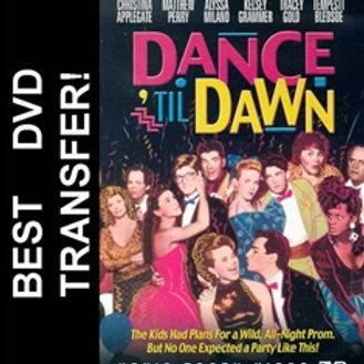 Dance Til Dawn DVD 1988 Matthew Perry Christina Applegate