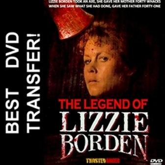 The Legend Of Lizzie Borden DVD 1975
