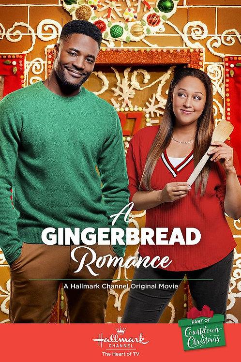 A Gingerbread Romance 2018 DVD