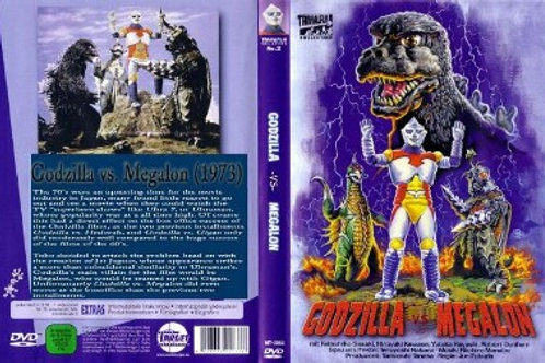 Godzilla vs Megalon (English Version) DVD