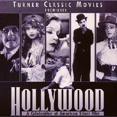 HOLLYWOOD:A CELEBRATION OF THE AMERICAN SILENT FILM (1980) 7 DVD 'S
