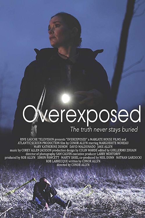 Overexposed 2018 DVD