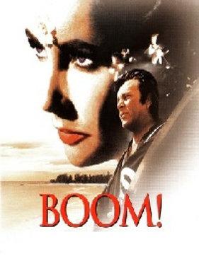 Boom! 1968 Elizabeth Taylor DVD