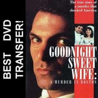 Goodnight Sweet Wife A Murder In Boston DVD 1990 TV Movie Ken Olin