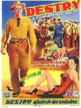 Destry 1954 DVD