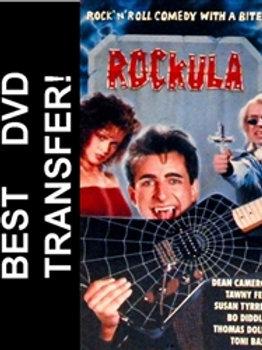 Rockula DVD 1990 Toni Basil Dean Cameron Vampire Musical